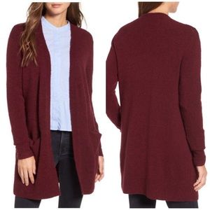 MADEWELL open front duster cardigan sweater